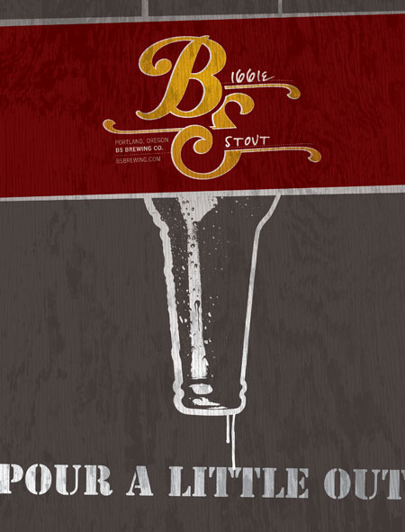 BS Brewing\'s First Advertisement