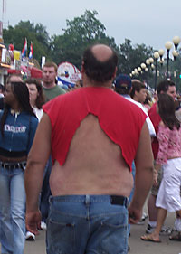 The Biggest Redneck- Rear View