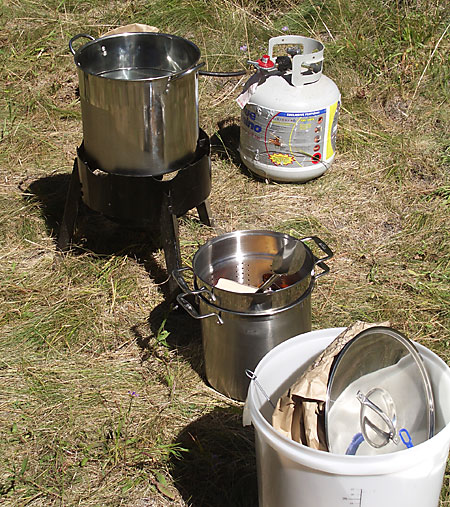 Equipment for Outdoor Beer Brewing