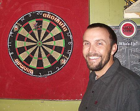 Bruce Scores a 180