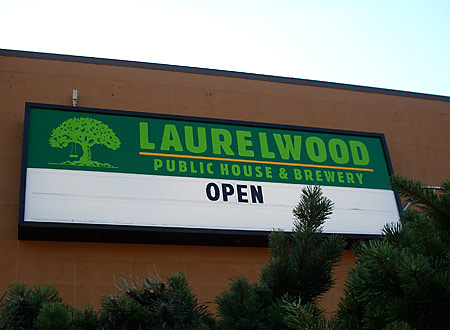 The sign says it all. Laurelwood's new Sandy location is open.