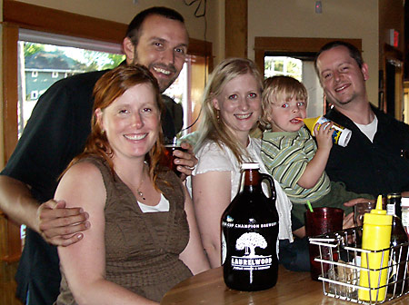 Soon, your growler will become part of your family, and you will want to include it in Christmas cards, birthday celebrations and graduations.