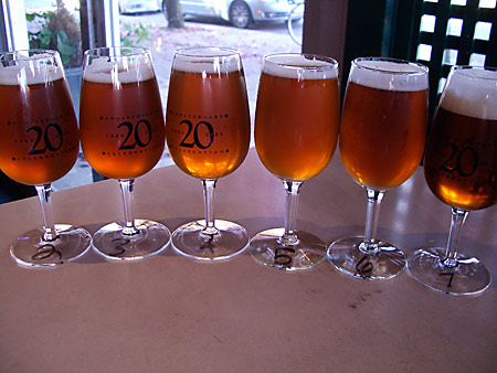 Quite a spread: 2002-2007 Vintages of Sierra Nevada Celebration