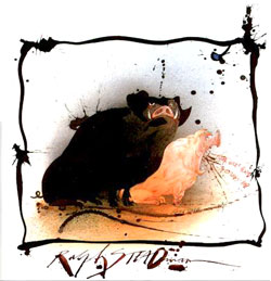 Ralph Steadman's Pig Illustration from the cover of George Orwell book