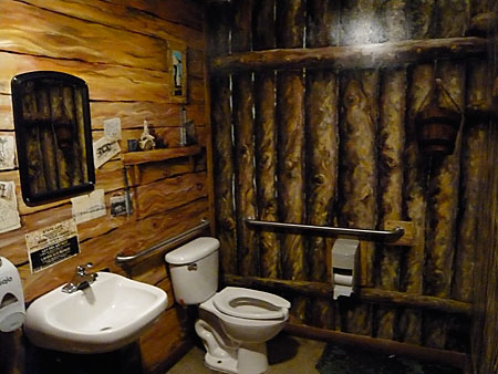 Bathroom Shanty at Fort George