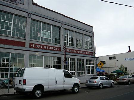 Fort George Brewing in Astoria, Oregon