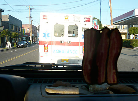 Chasing an Ambulance With a Bacon Air Freshener