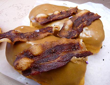 Extreme Bacon Closeup