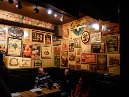 Inside T'Brugs Beertje, The Greatest Bar on Earth