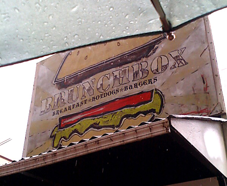Food Cart Signage