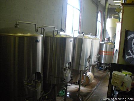 Hop Valley fermenters