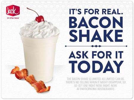 Jack's Bacon Shake